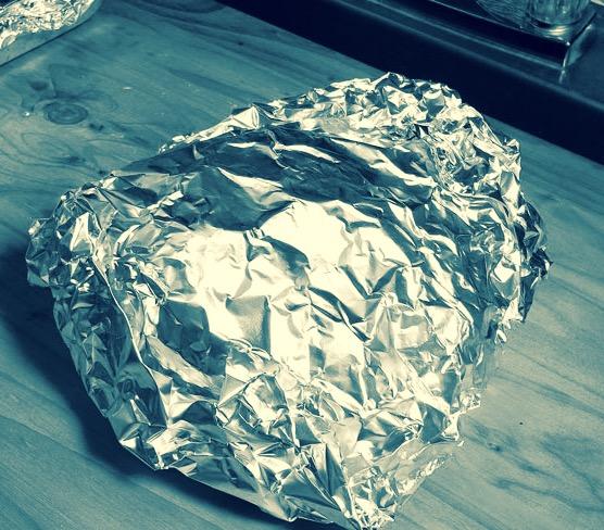 Alluminio, foil wrap